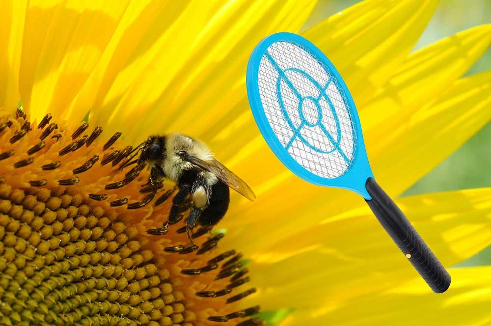 verano mejor regalo raquetazo raqueta matamoscas eléctrico